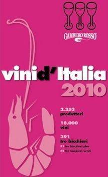 Guida vini d'Italia del Gambero Rosso I Tre bicchieri a 391 etichette
