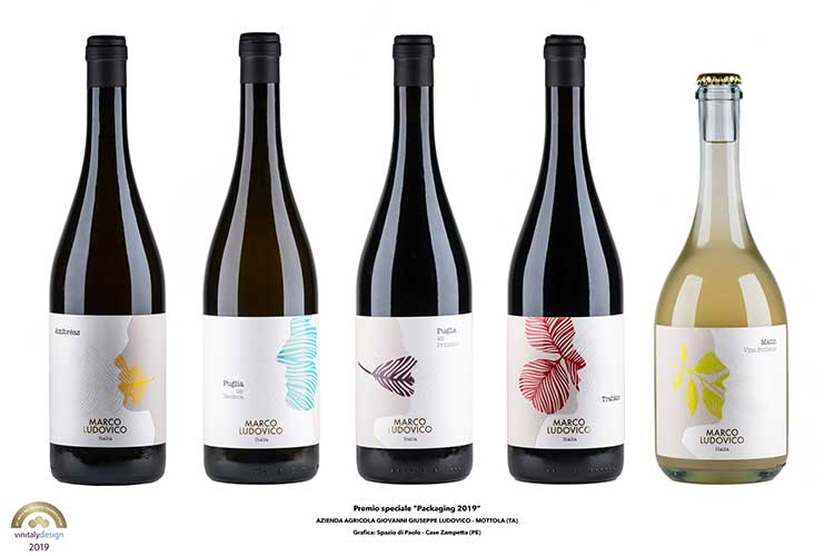 (Vinitaly, Packaging competition Premiata Cantina Palmento Costanzo)