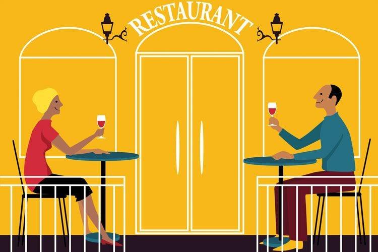 Si torna a brindare al ristorante Nel settore 1,3 milioni di lavoratori
