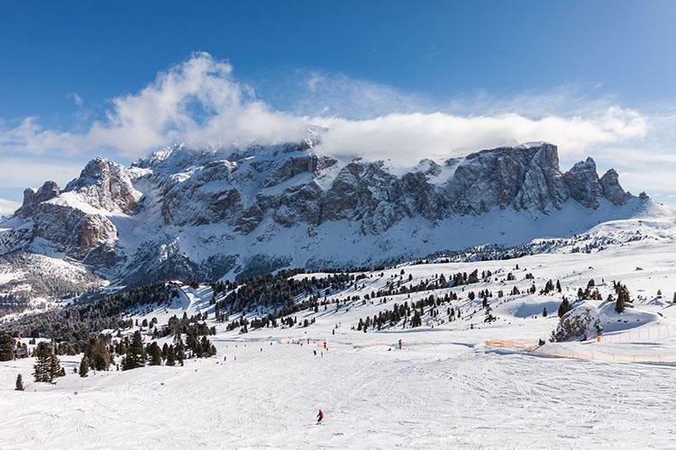 Vola il turismo natalizio Sulle Dolomiti +9% di presenze