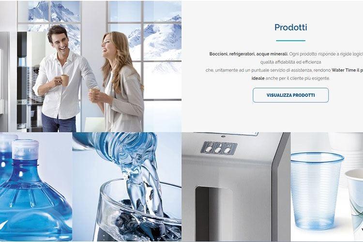 Water Time, nuovo look Cambiano logo e sito