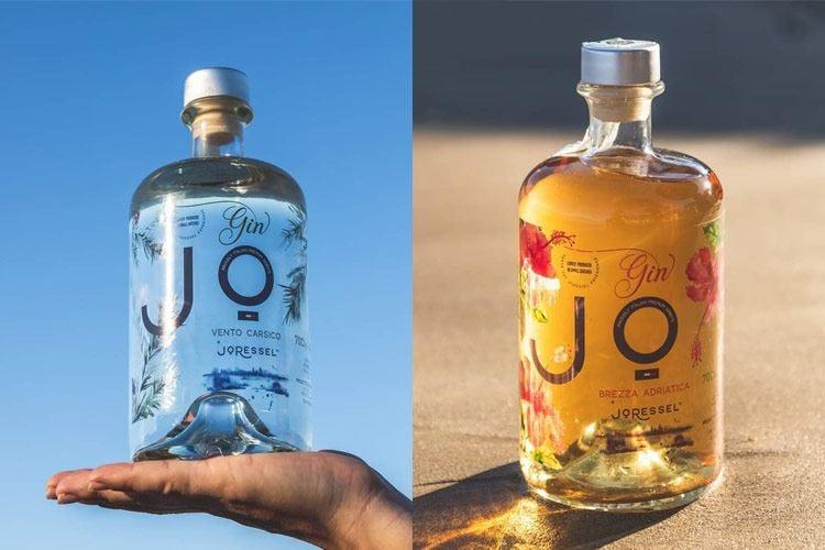 I gin Jo Ressel sulla strada per il Carso