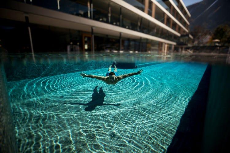 Wellness a 5 stelle immersi nel lusso dell'hotel Winkler