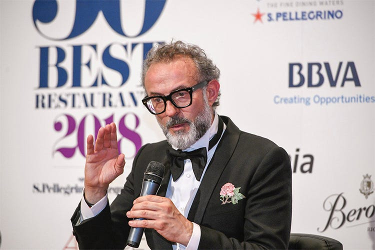 (The World's 50 Best Restaurants 2018 Massimo Bottura di nuovo in vetta)