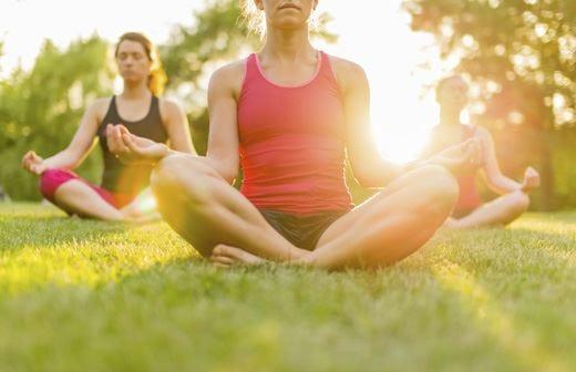 Yoga, come e quando praticarlo Meglio in luoghi lontani dal caos