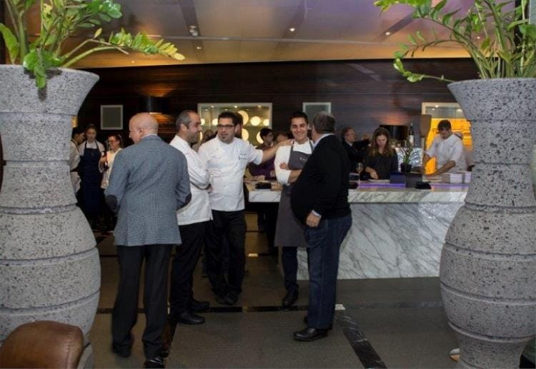 Al ristorante del romeo hotel di napoli una cena con 7 - Ristorante ristorante da silvana in torino con cucina italiana ...