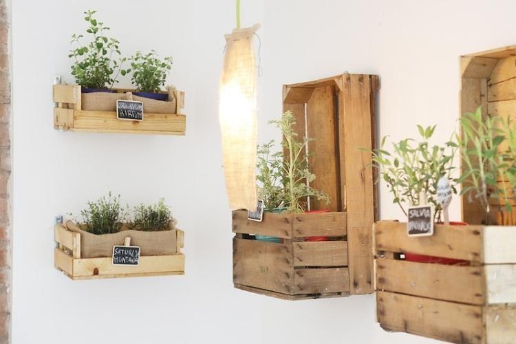 Orto erbe e cucina a milano gioielli gastronomici dal - Porta piante aromatiche ...
