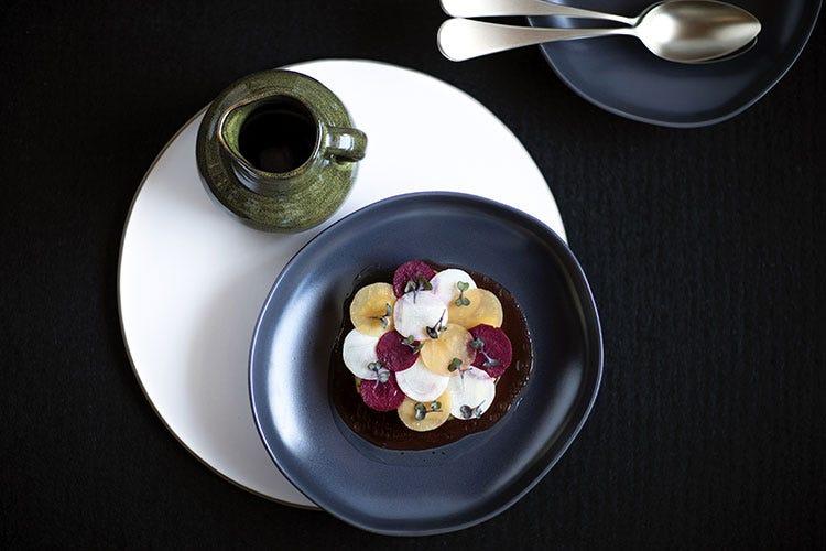 La cucina gourmet del San Brite, neo stella Michelin (Cortina, menu d'autore a domicilio  per cene gourmet senza fatica)