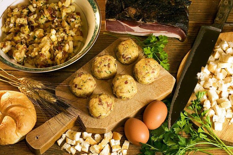 I canederli - foto: www.bandion.it (Cortina, menu d'autore a domicilio  per cene gourmet senza fatica)