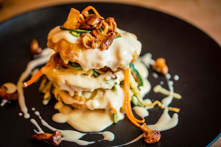 I piatti dello Chalet Tofane - foto: www.bandion.it (Cortina, menu d'autore a domicilio  per cene gourmet senza fatica)