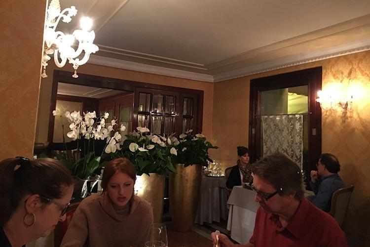 Cucina veneziana in chiave moderna il segreto di rossetti al canova di venezia italia a tavola - Cucina tipica veneziana ...