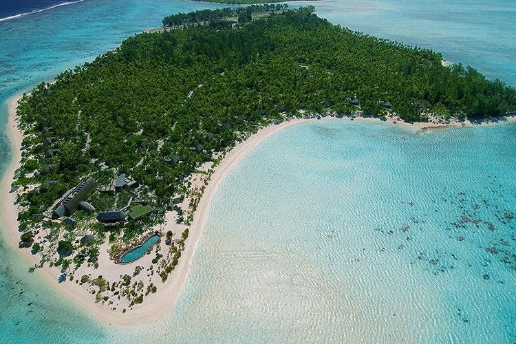 Polinesia Francese, il resort The Brando 